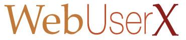 Web User X logo
